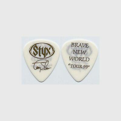 Styx Tommy Shaw authentic 1999 tour Guitar Pick