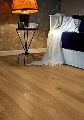 Engineered Oak Lacquered Wood Flooring 125mm - Tongue And Grove/ SALE £21.99 SQM