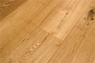 Engineered Oak Lacquered Wood Flooring 15mm x 150mm - REDUCED -  £24.99 SQM