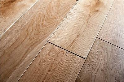 Solid Oak Lacquered Wood Flooring - Wider Boards 150mm - £31.99 Sqm