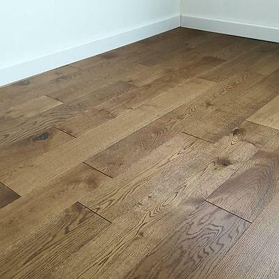 Engineered Oak Smoked Oiled Flooring  18mm x 5mm x 150mm
