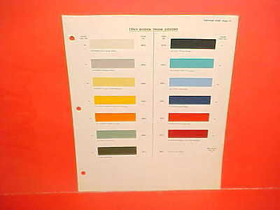 1963 Dodge Pickup Truck Power Wagon Crew Cab Town Panel Stake Cowl Paint Chips