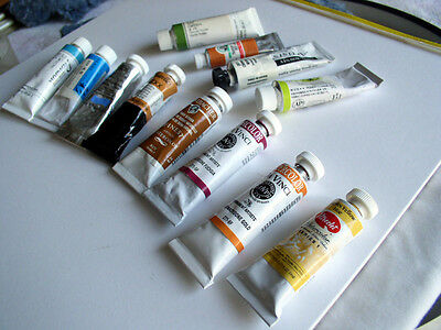Assorted Artist's Quality Watercolor Paints (Lot Of  12)