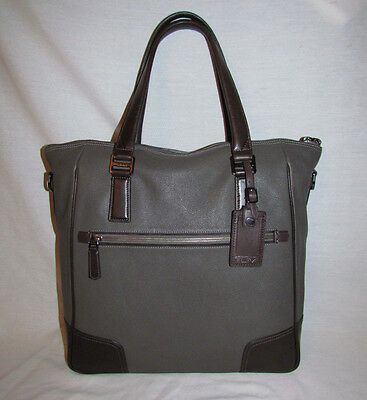 Tumi 68592 Beacon Hill Phillips Leather Laptop Bag Womens Briefcase Luggage Tote