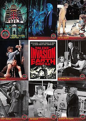 Doctor Who & The Daleks Invasion Earth 2150 Ad Unstoppable Cards Set Of 54 Tv