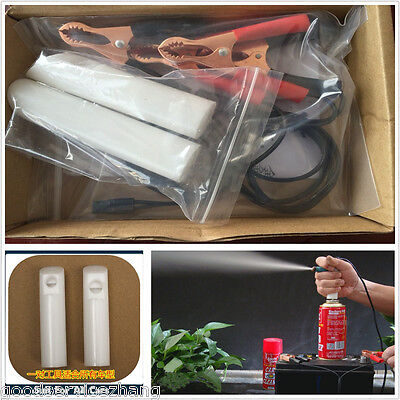 Universal Fuel Injector Flush Cleaner Adapter DIY Kit for all Cars Vehicle Tool