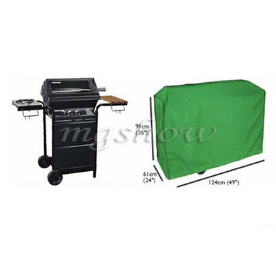 124cm BBQ Cover Outdoor Waterproof Barbecue Covers Garden Patio Grill Protector