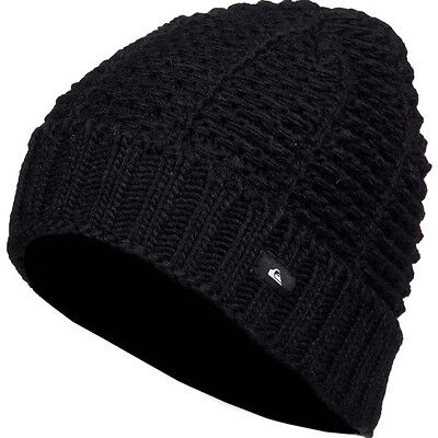 Quiksilver Keefer Mens Headwear Beanie Hat - Black One Size