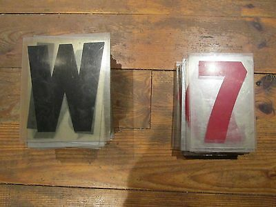 """10"""" sign board letters & numbers"""