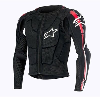 Alpinestars Adult Offroad MX Bionic Plus Ballistic Jacket S-2XL Black Medium