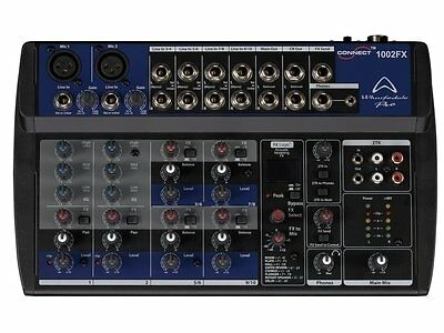 Wharfedale Pro Connect 1002 FX high quality micro-mixer Studio Stage Band