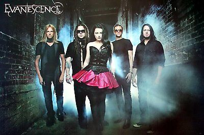 EVANESCENCE THE POSTER 24x36 INCH MUSIC ROCK CONCERT NEW 1 SIDE SHEET WALL PM164