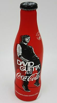 *FULL! 2012 Aluminum DJ David Guetta Coca Cola Bottle Coke France