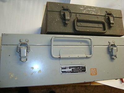 Signal Corp I-177B Tube Tester & Adaptor MX-949, Excel Condition