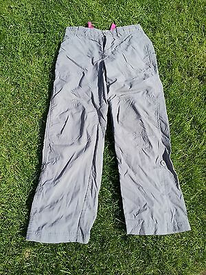 """North Face Childs Hiking Summer Trousers Size: Waist 24"""" Inside Leg 24"""""""