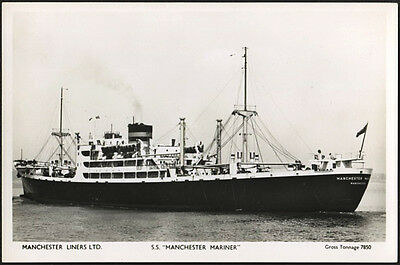Manchester Liners Ltd., S.s. Manchester Mariner, Rp.