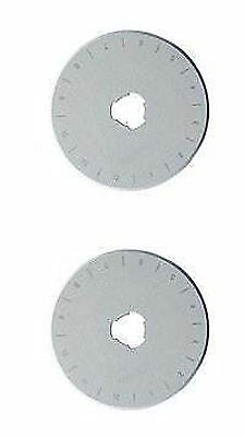 Pack Of Two 28mm DAFA Rotary Cutter Spare Replacement Blades