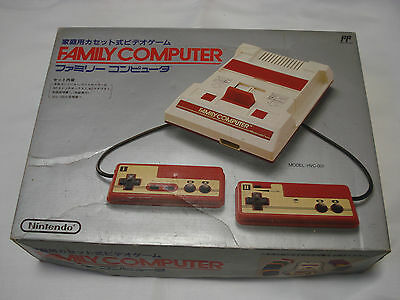 Famicom Family Computer Empty BOX ONLY FC Japan