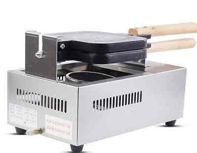 Commercial Nonstick Electric French Hot Dog Stick Waffle Maker Iron Machine M