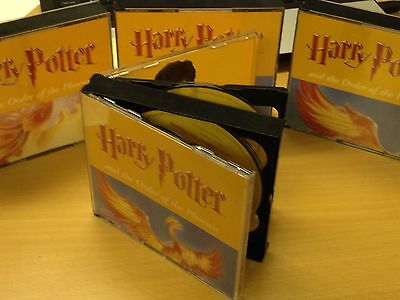 Harry Potter & the Order of the Phoenix CD Audio Book Read By Stephen Fry - SHF