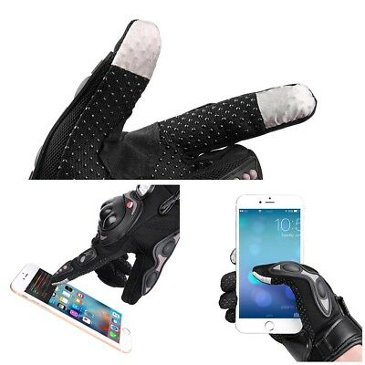 Motorcycle Full Finger Gloves Motorbike Motocross Cycling Racing Screen Touch L