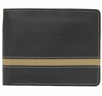 Real Leather Mens Slim Money  Designer ID Credit Card Wallet Purse Holder 88