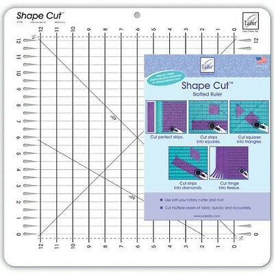 "June Tailor Shape Cut Ruler 12""x12"""