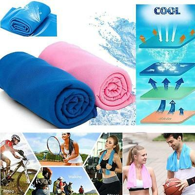 Hot Running Cycling Jogging Gym Chilly Pad Sports Instant Cool Ice Cooling Towel