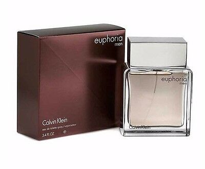 Calvin Klein Euphoria For Men 100Ml Edt Spray Brand New & Sealed*