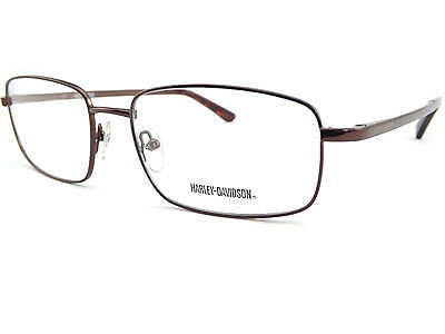 b0aab372f2ff HARLEY DAVIDSON +0.25 to +3.5 mens 57mm Reading Glasses Shiny Brown HD494  BRN