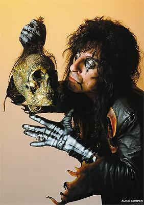 Alice Cooper Poster Rare New Mid 2000's Vintage  Collectable Skull