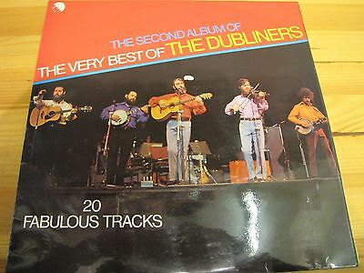 """Emc 3146 Uk 12"""" 33Rpm The Second Album Of The Very Best Of The Dubliners Ex"""
