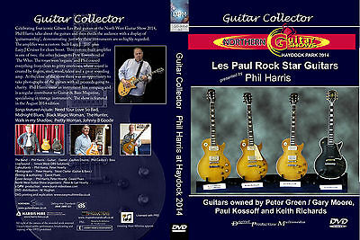 Gibson Les Paul Standard (Bursts)- Dvd-  Greeny, Keef Exile,  Kossoff
