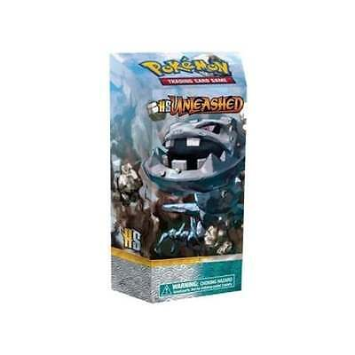 POKEMON HS UNLEASHED * Steelix Steel Sentinel Theme Deck