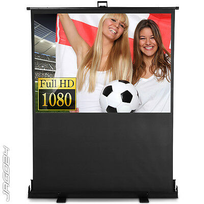 Portable Projector Screen Home Movie Cinema Presentation Canvas Pull Down HD TV