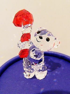 Swarovski  Annual Edition 2016 ,  Kris Bear With Candy Cane   #5222231