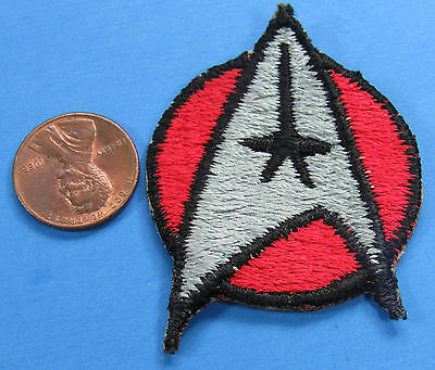 PATCH vintage Star Trek MOTION PICTURE insignia ENSIGN Red
