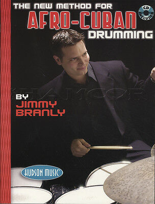 The New Method for Afro-Cuban Drumming Drum Book with CD Learn How To Play