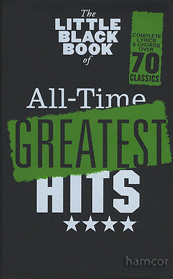 The Little Black Book of All-Time Greatest Hits Pop & Rock Guitar Chord Songbook