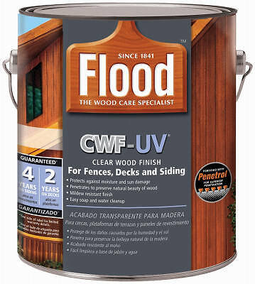 PPG ARCHITECTURAL FIN/FLOOD - Wood Finish, Honey Gold, Gallon