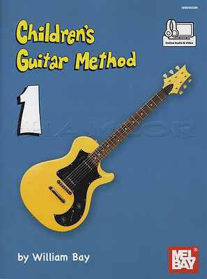 Children's Guitar Method 1 Learn How to Play Beginner Kids Acoustic & Electric