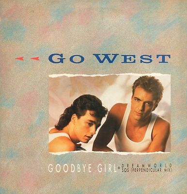 "Go West(12"" Vinyl Gatefold)Goodbye-Chrysalis-GOW X2-UK-1985-Ex/NM"