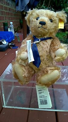 Genuine Mohair Steiff  'Father' Teddy Bear, never used with Button