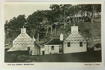 Postcard The Old Smithy, Berriedale, Caithness c1950's