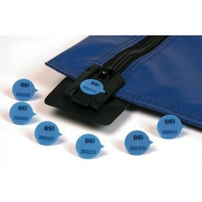 Val-U-Mail Plain Or Numbered Round Blue Seals**best Price**