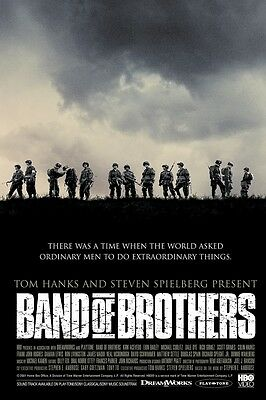 Band Of Brothers poster print : 11 x 17 inches (Style b)