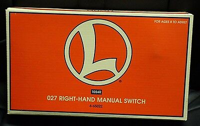 Lionel O27 Right-Hand Manual Switch
