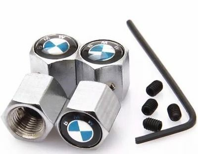 bMw tyre valve caps. With Free Anti Theft Locking Nuts