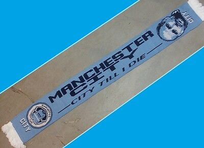 Manchester City Scarf Pep Guardiola Football CHRISTMAS PRESENTS