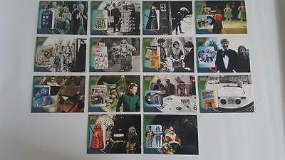 2002 Doctor Who Series 3 F1-F14 Complete Chase Cards Set Near Mint/ Mint